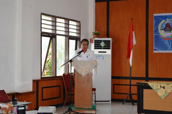 Pembukaan Secara Resmi oleh Sekretaris Daerah Kota Gunungsitoli
