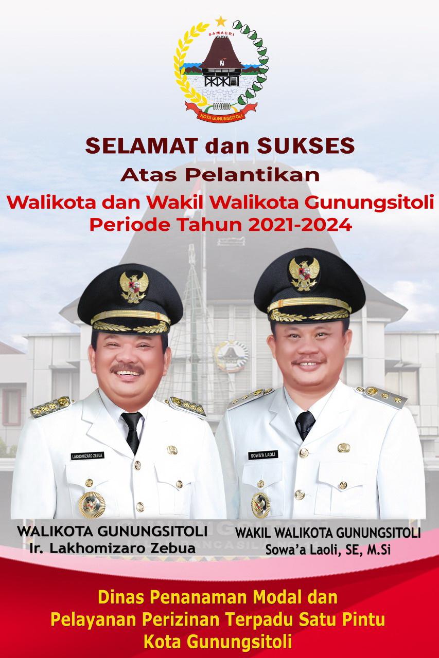 Selamat & Sukses Atas Terpilihnya Walikota dan Wakil Walikota Gunungsitoli